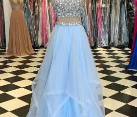 Colorful Prom Dress ..