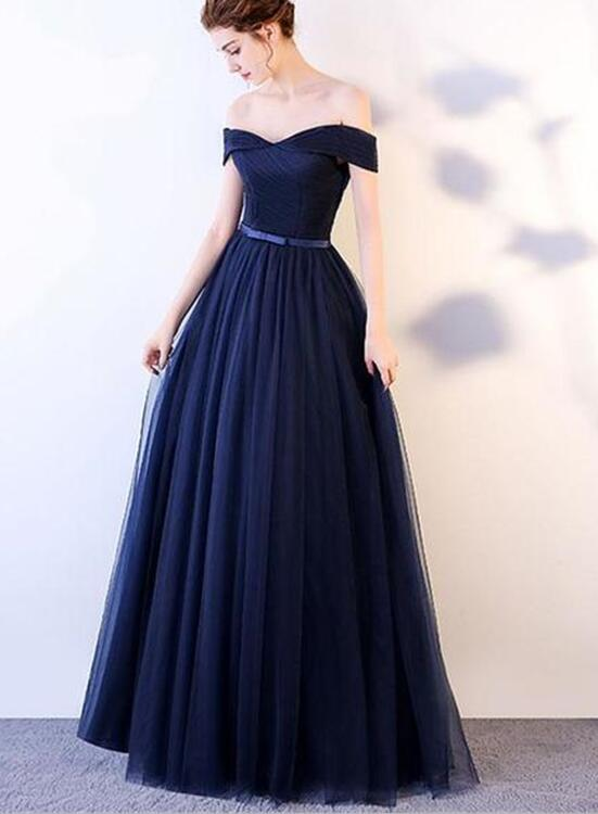 9c8e251cf37 Charming Royal Blue Long Prom Dress