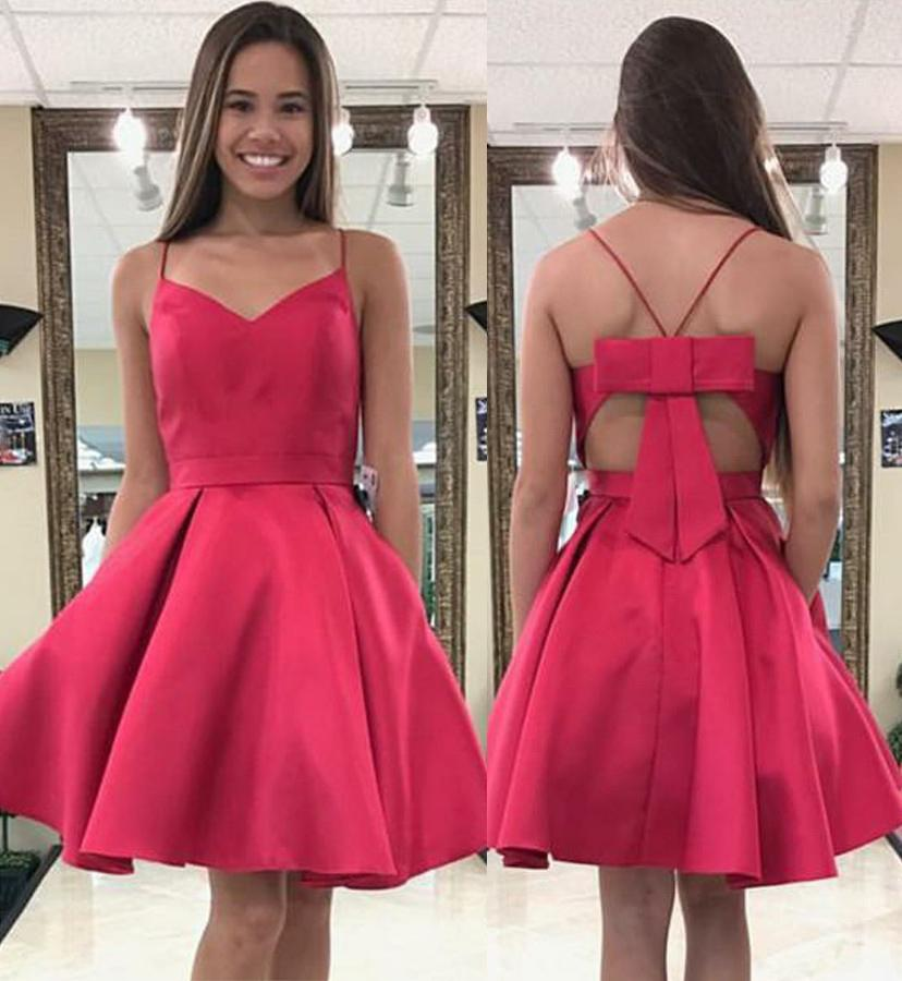 10e2ac3fbb7 2018 Cute Homecoming Dress