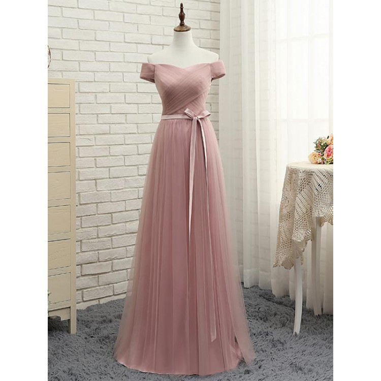 7c08562ab4 Custom Made Pink Evening Prom Dress Fine Long Prom Dresses With Tulle A-line Princess  Lace Up Ruffles Dresses