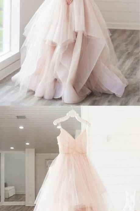 Chic Cheap Prom Dress Modest Beautiful Simple Long Prom Dress
