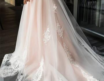 2019 Elegant Lace Off Shoulder Wedding Dress,Long Sleeves Appliques Bridal Dress,High Quality Custom Made